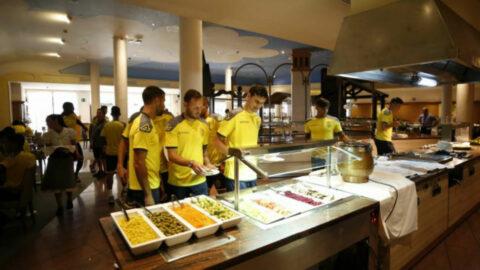 posiciones y nutrición en el futbol