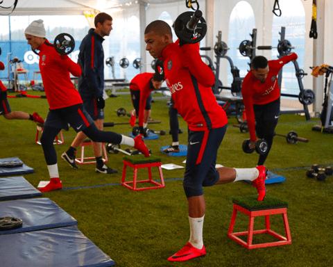 formas de trabajar la fuerza en futbol