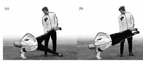 aductores, tratamiento pubalgia en futbol. acción de aductores en futbol
