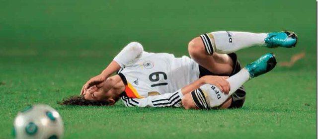 lesiones futbol femenino
