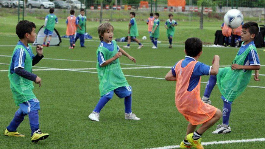 metodología en una escuela de fútbol