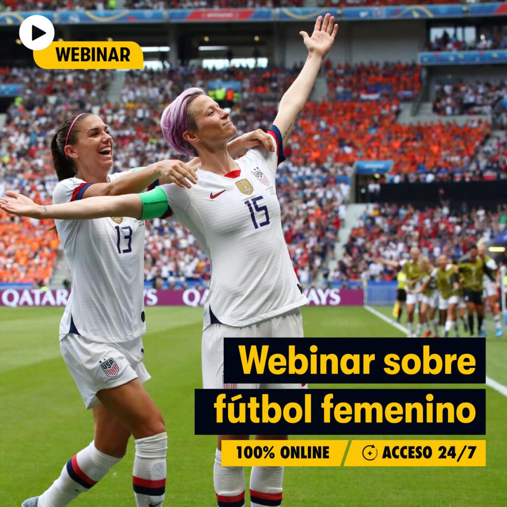webinar curso online futbol femenino