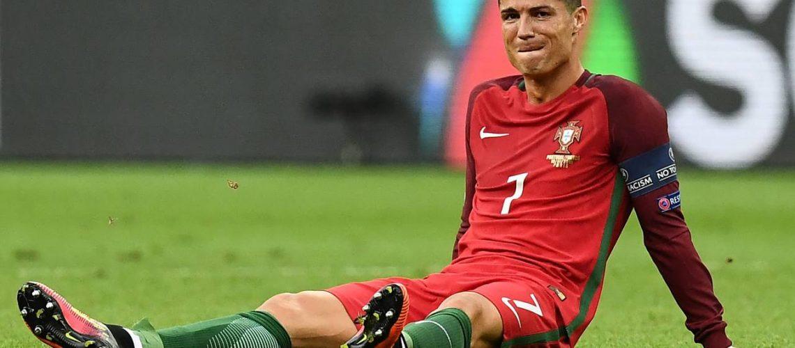 cansancio en el futbolista