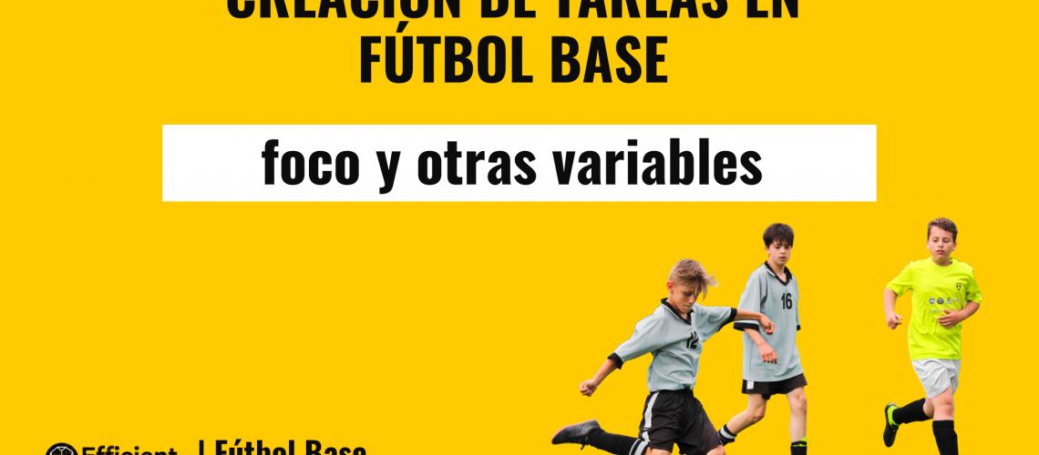 Creación de tareas en fútbol base